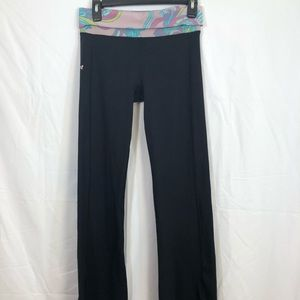 Lilly Pulitzer Black Long Pant Leggings Medium